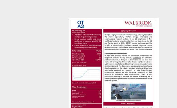 OTAQ-Investment-Summary